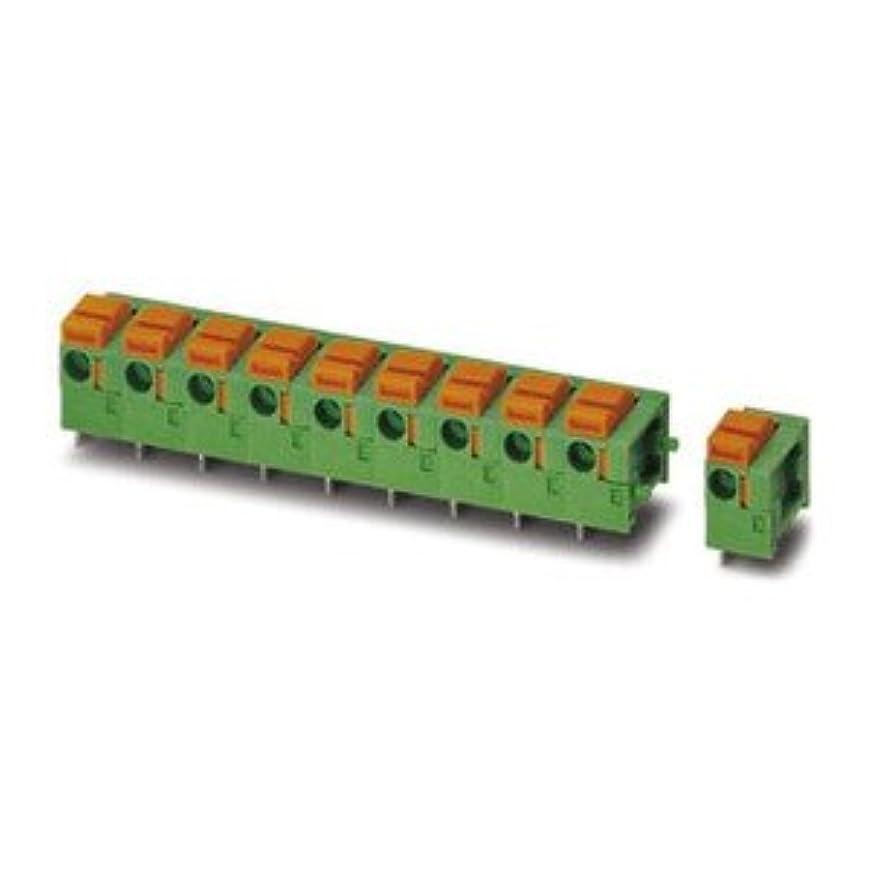 聖なるインペリアルポルノPhoenix Contact 基板用端子台 7.62mmピッチ 3極 緑 1700761