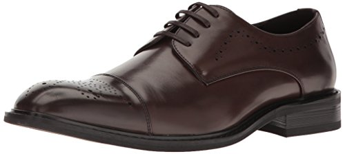 Kenneth Cole Unlisted Men's Playing Piano Oxford, Brown, 11.5 M US