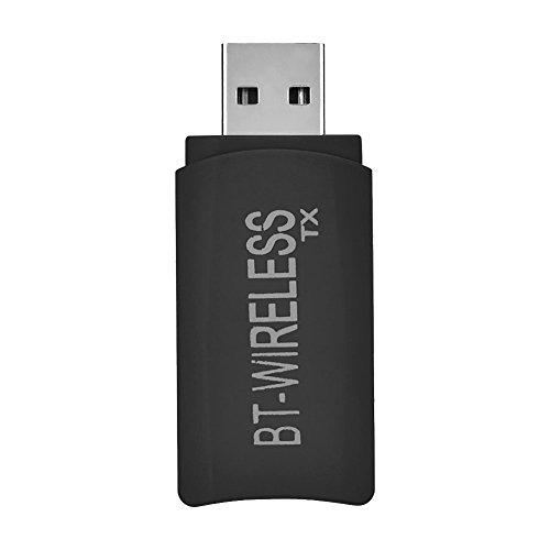 Richer-R Bluetooth Transmitter Empfänger, Portable 2in1 USB Wireless Bluetooth 4.2 Sender Empfänger Stereo Adapter mit 3,5 mm Audio für TV, CD-Player, PC, MP3 / MP4
