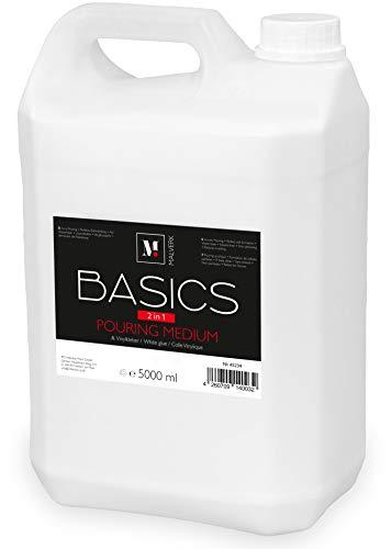 Malverk Basics -2in1- Acryl Pouring Medium & Vinylkleber 5 Liter