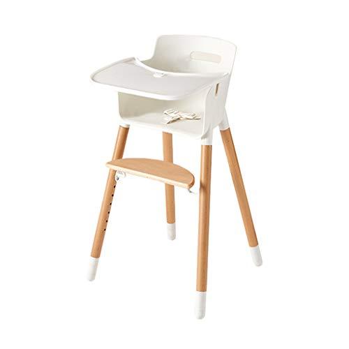 en Bois Ergonomique Chaises Hautes Chaise de Salle à Manger pour bébé Siège bébé Tabouret De Table Chaise de Salle à Manger pour Enfants Portable Multifonctionnel Chaise téléscopique pour Enfants