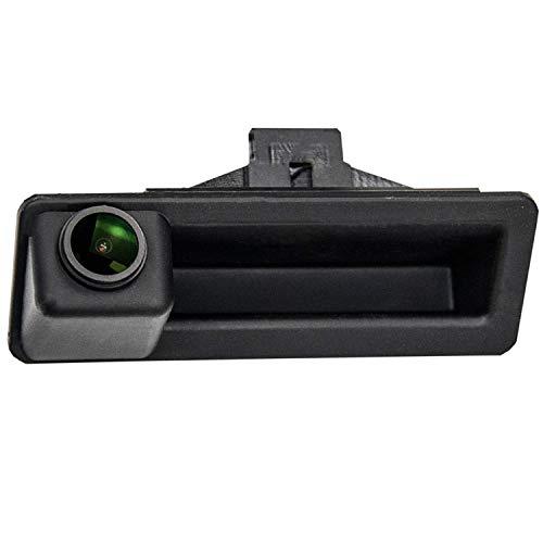 HD 1280x720p Rear Reversing Backup Camera Rearview License Plate Camera Night Vision Ip68 Waterproof Compatible for X5 X1 E39 E53 E82 E88 E84 E90 E91 E92 E93 E60 E61 E70 E71 E72 2002-2011