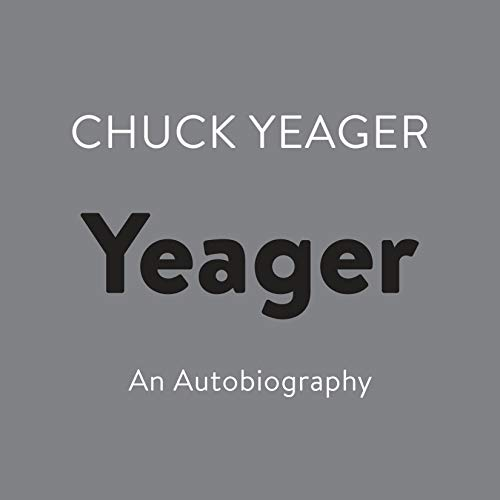 Yeager audiobook cover art