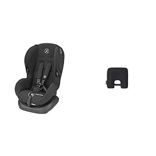Maxi-Cosi Priori SPS + Kindersitz mit optimalen Seitenaufprallschutz und 4 Sitz- und Ruhepositionen, Gruppe 1 (9-18 kg), nutzbar ab 9 Monate bis 4 Jahre, Basic Black (schwarz) + Maxi-Cosi e-Safety