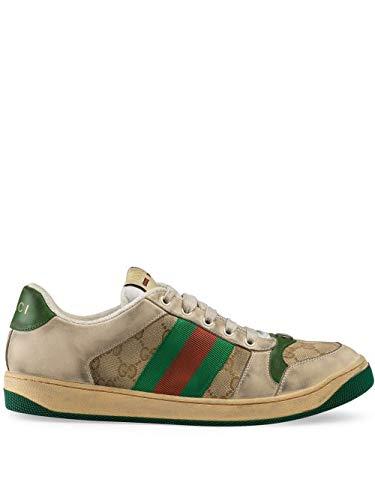 Gucci Luxury Fashion Uomo 5465519Y9209666 Multicolor Pelle Sneakers   Stagione Permanente