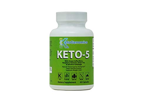 Best Keto Pills - Weight Loss Supplements to Burn Fat Fast - Boost Energy and Metabolism - Best Ketosis Supplement for Women and Men - Best Keto Diet - 60 Capsules-by KetoGenomics LLC.