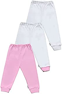 Little Kickers Pants Size 9 - 12 Months For Girls-Pack of 3