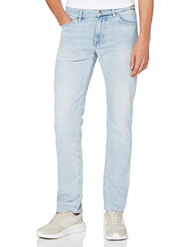 BOSS Herren Maine BC-L-C Straight Jeans, Blau (Light/Pastel Blue 451), W36/L32 (Herstellergröße: 3632)