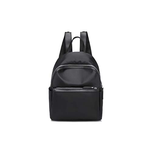 ZPCQ401 Black Backpack, Side Pocket Design, Large Capacity, Adjustable Shoulder Strap, can be Carried When Going Out