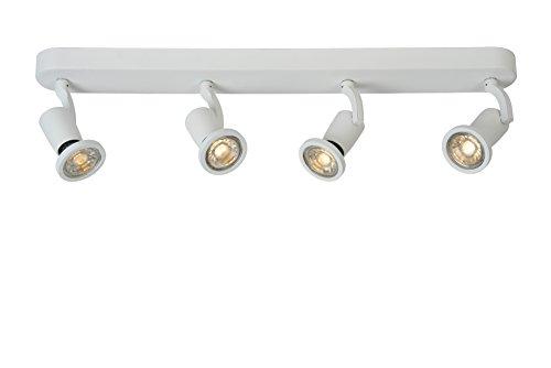 Preisvergleich Produktbild Lucide JASTER-LED - Deckenstrahler - LED - GU10 - 4x5W 2700K - Weiß