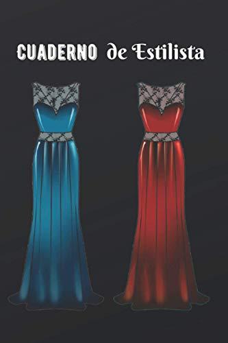 Cuaderno de Estilista: Cuaderno de diseño de moda   Libro