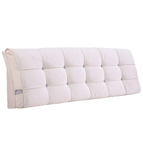 Kopfteil Kissen Kissen Rückenlehne Bett Kopfstütze, Abnehmbar Und Waschbar, Erhältlich In 2 Farben / 12 Größen FENPING (Farbe : Headboard-#2, größe : 140cm*58cm*10cm)