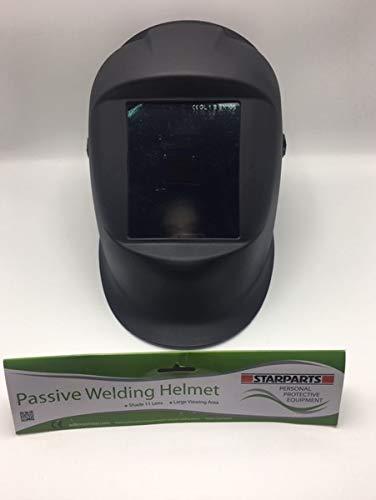 Jackson Phoenix Style Wide Vision Passive Fixed Shade W10 HSL 100 Schweißhelm schwarz