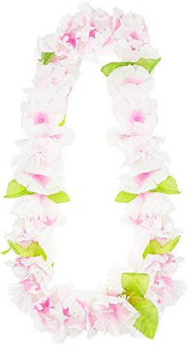 Das Kostümland Hawaii Blumenkette Sunrise - Rosa