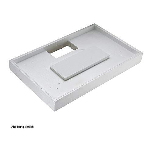 Duschwannenträger Villeroy & Boch Architectura MetalRim 100 x 100 x 1,9 cm Ablauf mittig, 7708