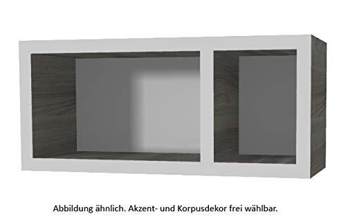 PELIPAL Neutrale Möbel Wandregal/T: 17 cm/EM-WR 20-03-45-17