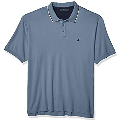 Men's Big and Tall Classic Fit Short Sleeve Solid Soft Polo Shirt