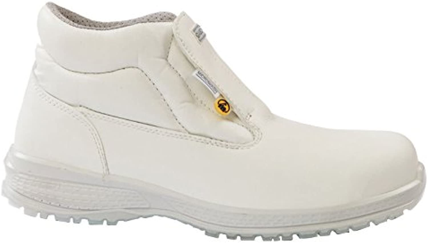 Giasco KU020I42 High shoes, Baltic, S2, Size US  8 Size UK  42, White