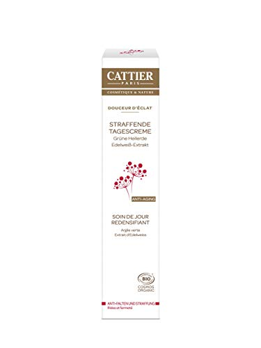 Cattier Straffende Tagescreme für reife Haut mit Heilerde, zertifizierte Naturkosmetik, 50 ml