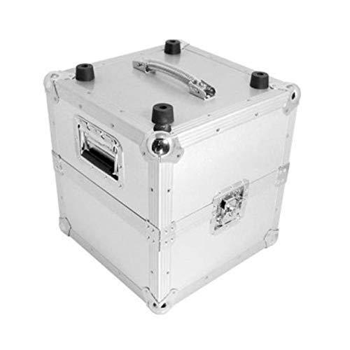 Zomo Recordcase MP-100 V.2 - Silber - Plattenkoffer DJ Vinyl-Case für ca. 100 Vinyls