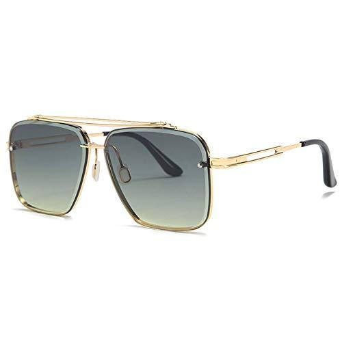 Gafas de sol de los hombres de Jiandger, las gafas de sol de la frontera de la frontera de la moda