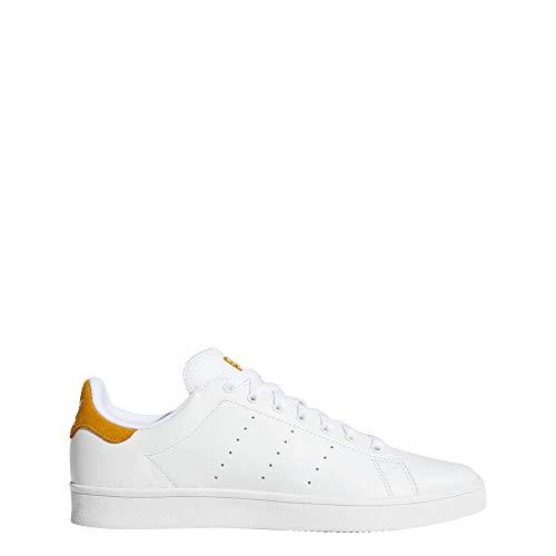 adidas Jungen Stan Smith Vulc Fitnessschuhe, Weiß (Ftwbla/Ftwbla/Amatac 000), 36 2/3 EU