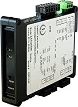 Laurel Electronics LT21WM1 Load Cell Transmitter, Custom Scaling, 4-20 mA Analog and RS232/RS485 Outputs, Dual 120 mA Relays, 10-48 Vdc Power