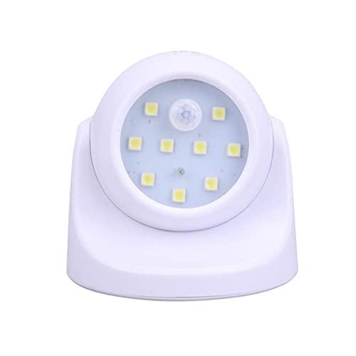 HHF LED Bulbs Lamps, 1/2 / 4PACKS LED Luz nocturna PIR Sensor de movimiento activado Lámpara de pared inalámbrica activada Fresco blanco 6500K Bulbo para el hogar de la iluminación del techo del pasil