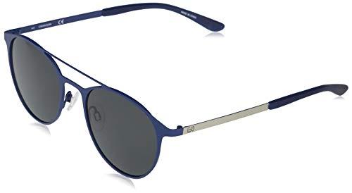 Calvin Klein EYEWEAR CK20138S-410 Gafas, Matte Navy/Solid Smoke, 52-20-145 para Hombre