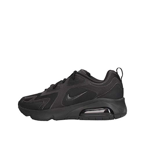Nike Air MAX 200 Men's Shoe, Zapatillas para Correr Hombre, Black/Black, 38.5 EU
