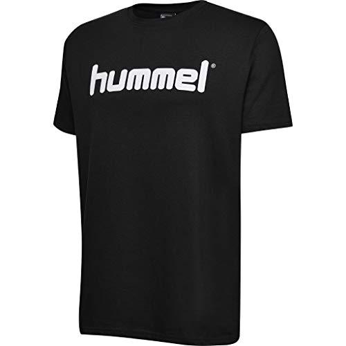 hummel Kinder HMLGO Kids Cotton Logo T-Shirts, Schwarz, 164
