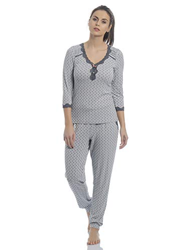 Vive Maria Ice Princess Pyjama Pearl Blue Allover, Größe:XS