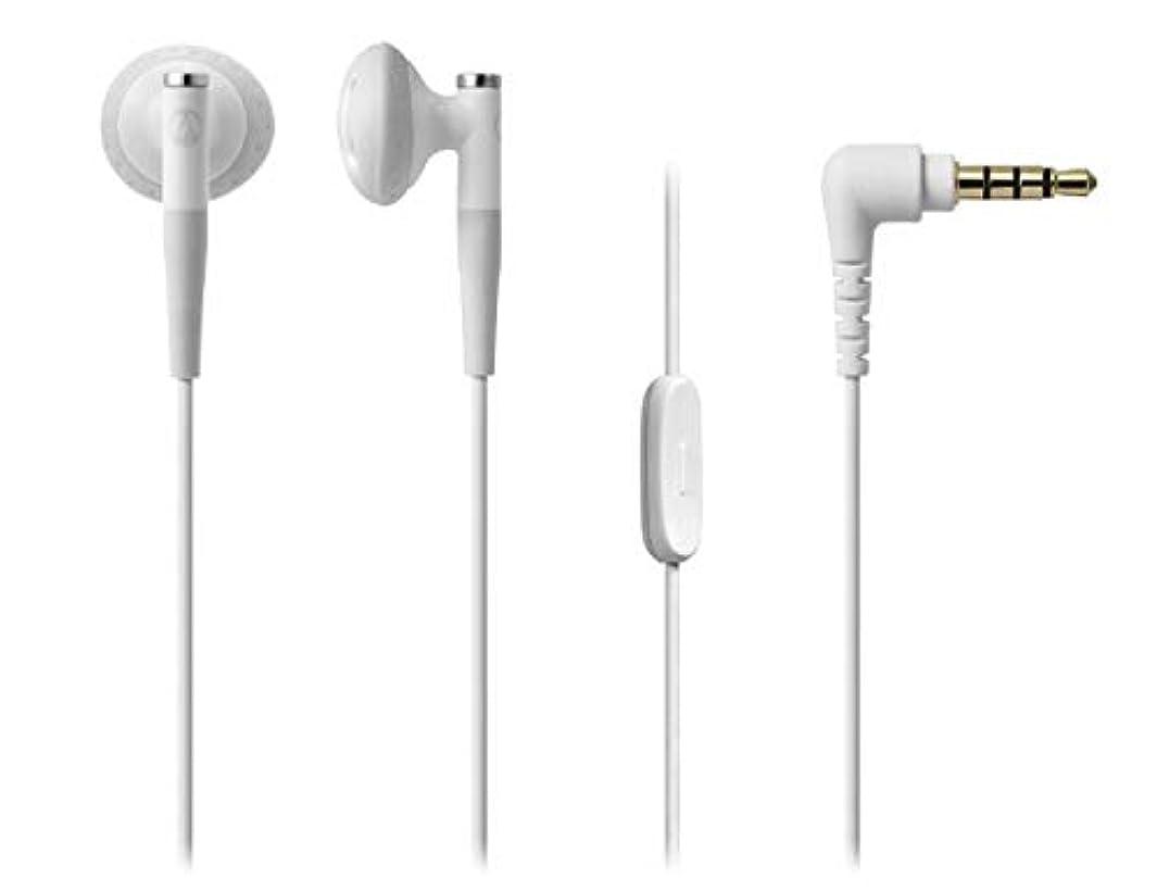 何か機構純度オーディオテクニカ スマートフォン用 ダイナミックセミオープン型イヤホン(ホワイト)audio-technica ATH-C200IS-WH