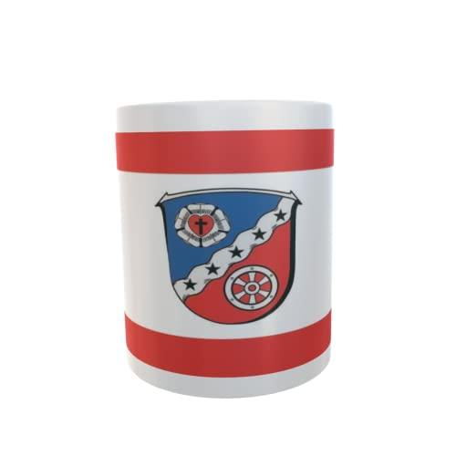 U24 Tasse Kaffeebecher Mug Cup Flagge Rodgau