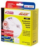 Best Price Square SMOKE ALARM AC MAINS IONI SLICK BPSCA 1SFW - SR08839 By...