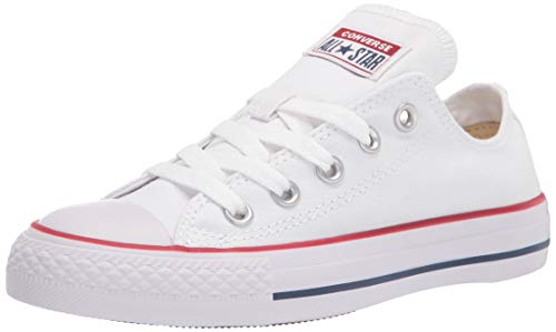 Converse Unisex Chuck Taylor All Star Low Shield, Optical White, 13 M US Women / 11 M US Men