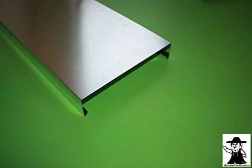 Mauerabdeckung 2 m lang Aluminium Natur 0,8 mm (mittel)
