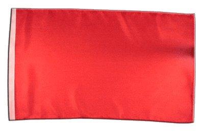 Fahne Flagge Einfarbig Rot 30 x45 cm