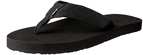 Teva Men's Mush II Flip Flop,Brick Black,8 M US