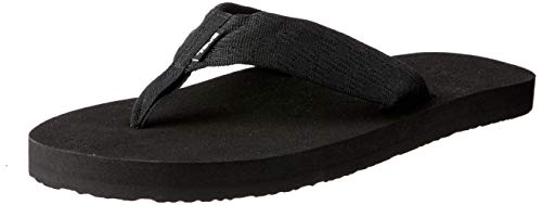 Teva Men's Mush II Flip Flop,Brick Black,9 M US