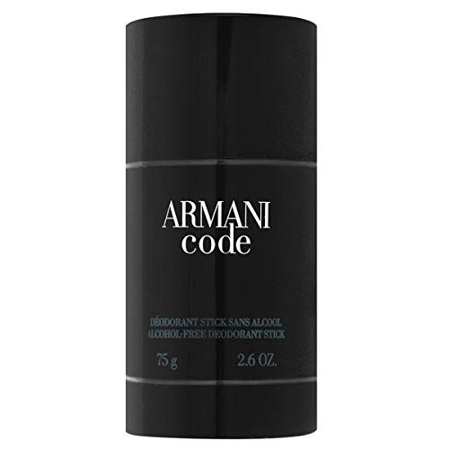 Armani Code by Giorgio Armani For Men. Alcohol Free Deodorant Stick 2.6-Ounces