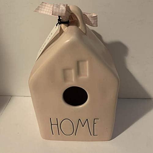 Rae Dunn HOME Birdhouse - Ranking TOP10 List price Ceramic Pink