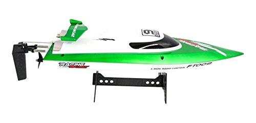 efaso FT009 - Barca Sportiva radiocomandata, 2,4 GHz, Fino a 30 km/h, Verde