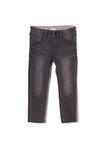 s.Oliver Jungen Skinny Fit: Slim Leg-Jeans grey 140.REG