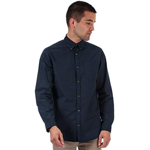 Jack Jones - Camisa de manga larga para hombre, color azul marino