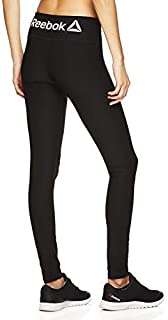 Reebok Women's Legging Full Length Performance Compression Pants - Black Small [並行輸入品]