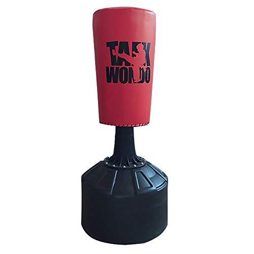 FWQAZ Boxsack Kinder 160cm/110CM/120CM/180CM, Standboxsack für Sofortiges Zurückprallen zum Üben von Karate, Taekwondo und zur Entlastung von Pent Up Energy bei Kinder