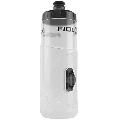 Fidlock Twist Spare Trinkflasche 600ml Fahrrad Magnetisch Rahmen Wasserflasche Befestigung, 09602, Farbe Transparent