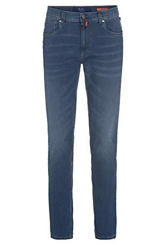 Brühl - Comfort Fit - Herren 5 Pocket Jeans Hose mit hohem Stretchanteil, York DO FX (0817191221100), Größe:106, Farbe:Stone Used (3910)