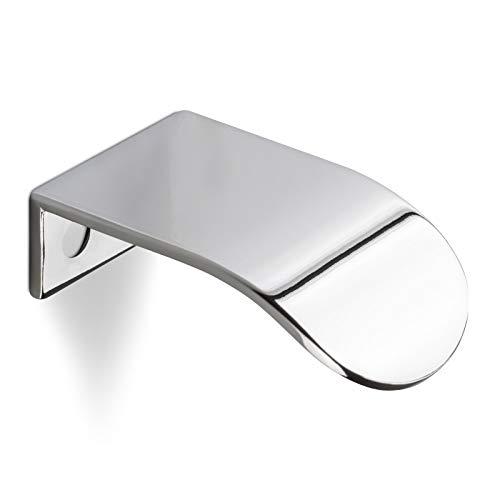 SCHÜCO ALU COMPETENCE Möbelgriff Ole Griffleiste Türgriff Chrom glänzend BA 16 mm Design trifft auf Funktion
